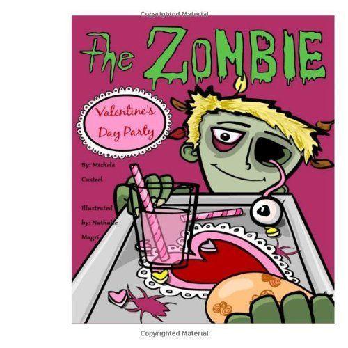 Zombie Valentine Story Book Kids Valentines Day Book Paperback Childrens  Monster #Avery
