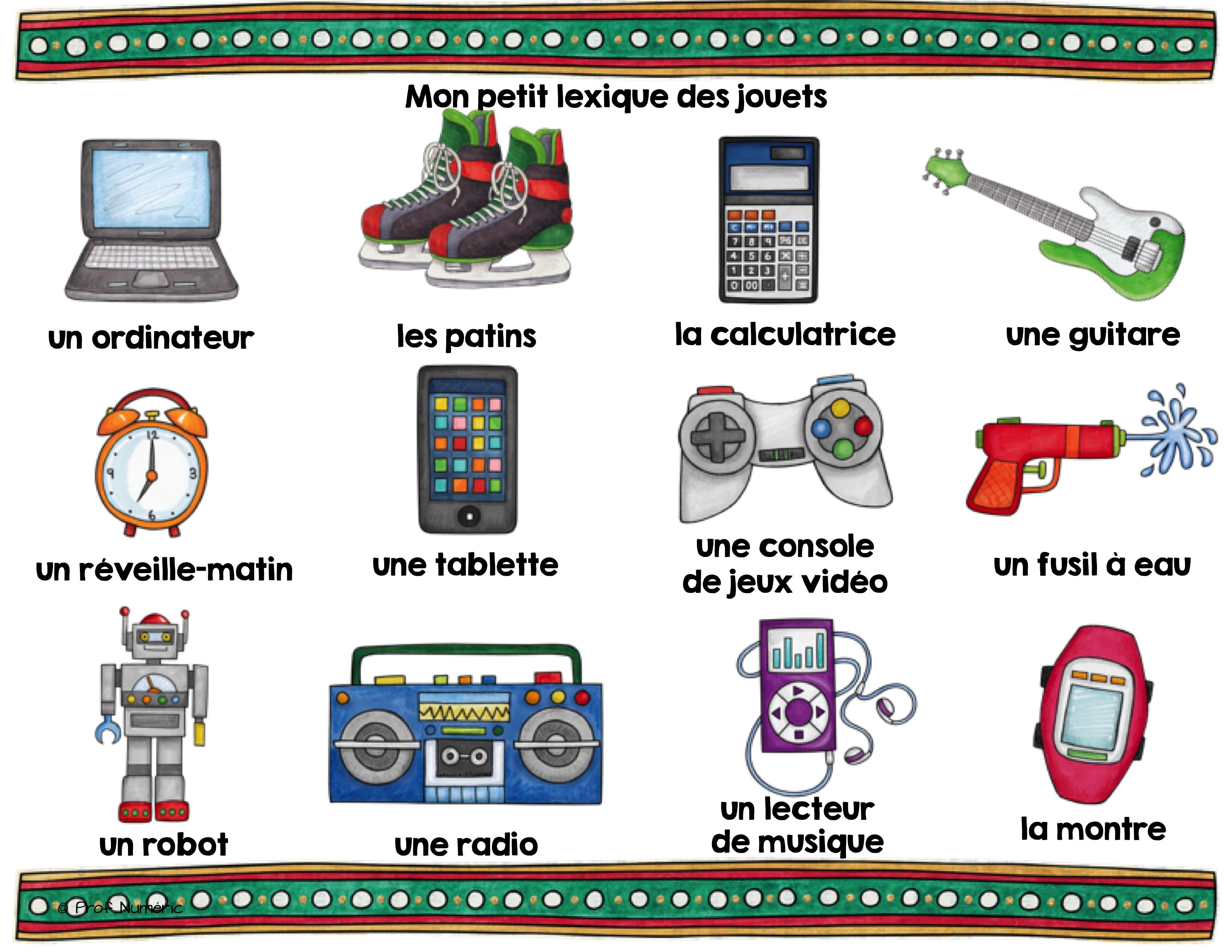 Image Result For Jouets Vocabulaire