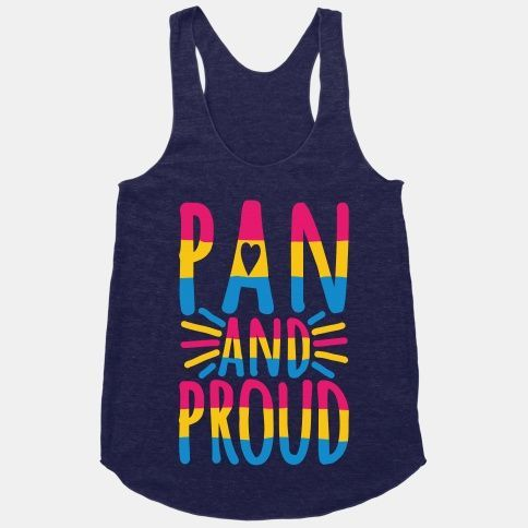 Pan And Proud Racerback Tank | LookHUMAN - Fitness Shirts - Ideas of Fitness Shirts #fitnessshirts #...