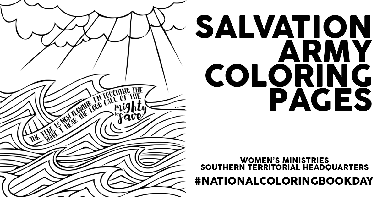 Salvation Army Coloring Pages | The Salvation Army | Pinterest ...