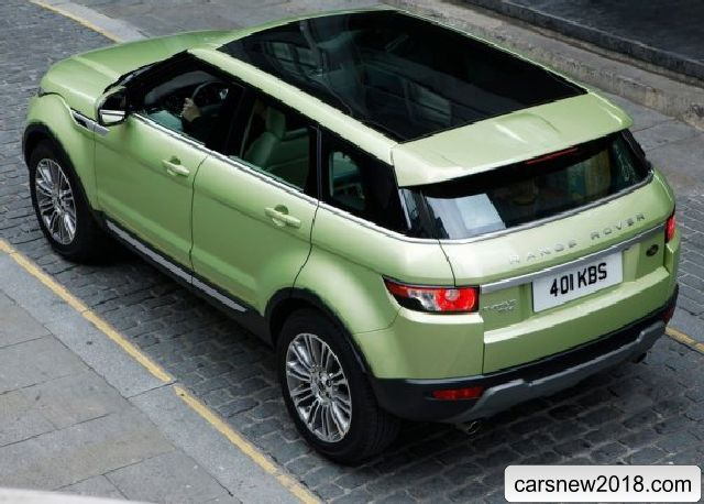 Range Rover Evoque Will Receive A New Automatic Cars - Cheap range rover insurance