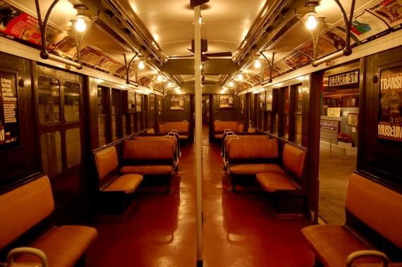 1920's Subway Car