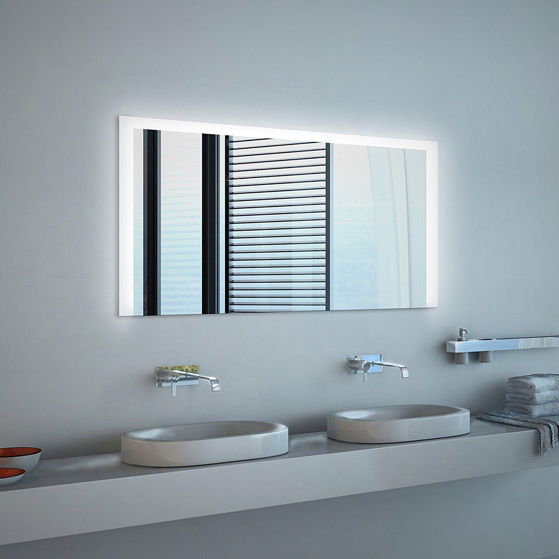 Spiegel Id Noemi Modern Illuminated Led Bath Mirror With