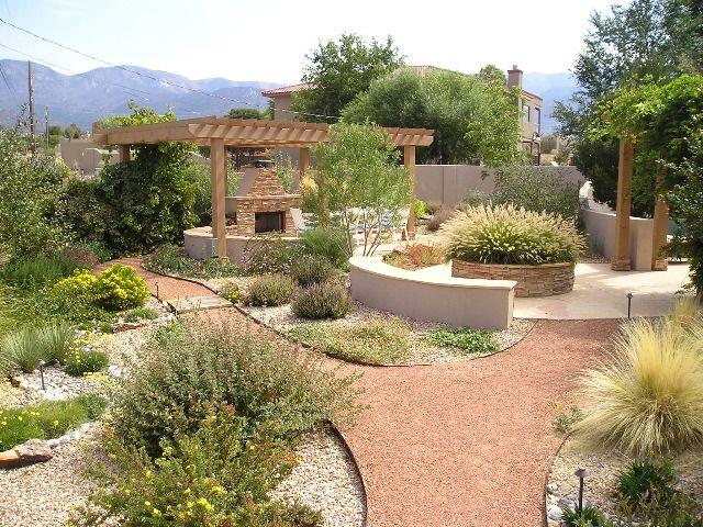 North Albuquerque Acres Landscape Design NM | Southwestern ...