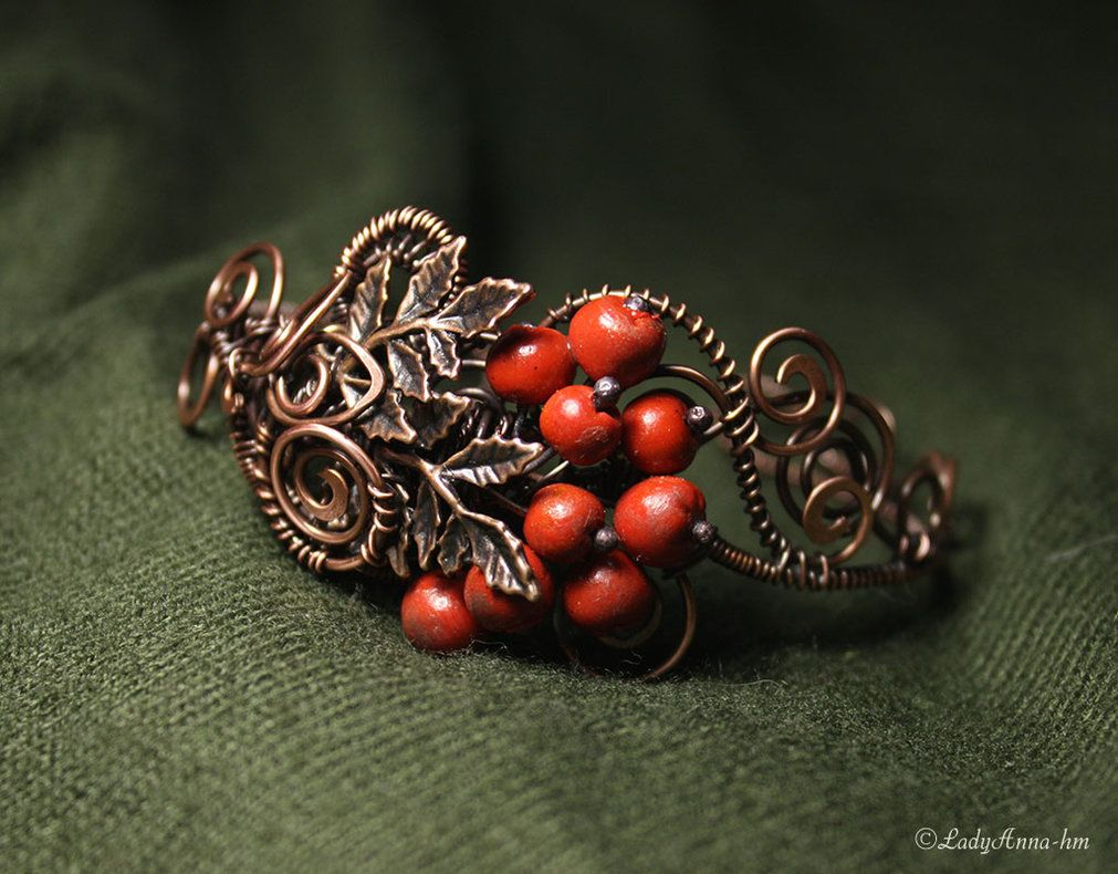 Bracelet Rowan by Egarimea on DeviantArt