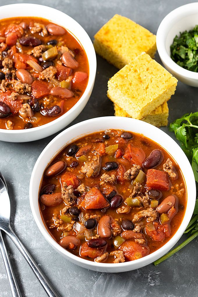 Easy Stove Top Chili | The Blond Cook