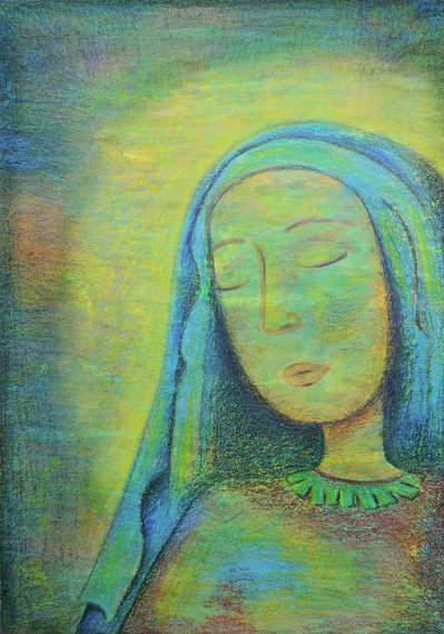#Society6                 #love                     #CRAYON #LOVE: #Mary #Print #Carina #Povarchik #Society6                      CRAYON LOVE: Mary Art Print by Carina Povarchik | Society6                                              http://www.seapai.com/product.aspx?PID=1781563