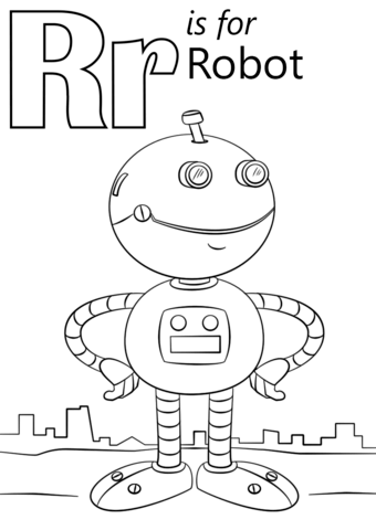 letter r coloring pages preschool - photo#16