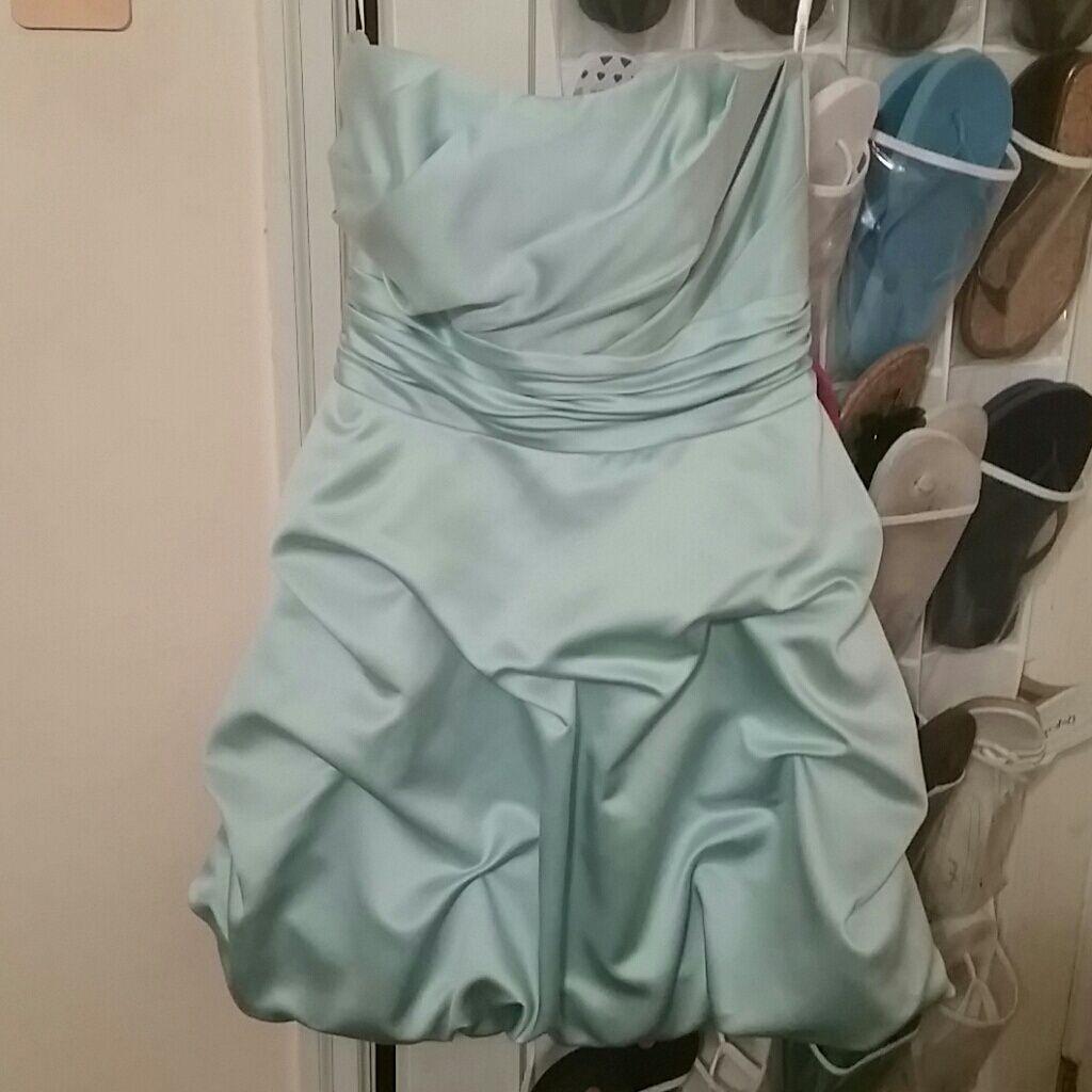 Makeup with mint green dress  Mint Green Bridesmaid Dress  Mint green bridesmaid dresses and Products