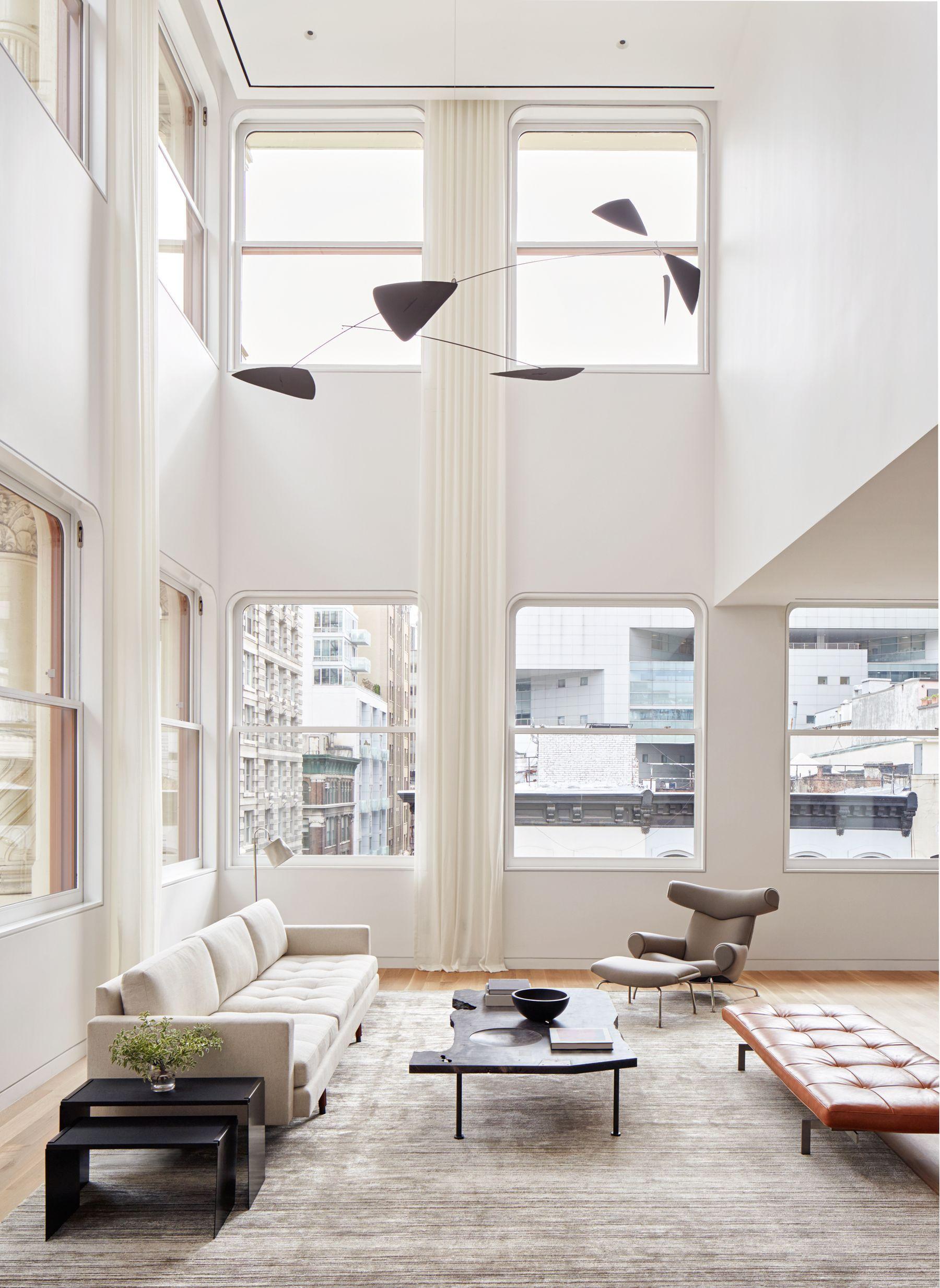 shigeru ban's cast iron house unveils its austere model apartment, Innenarchitektur ideen