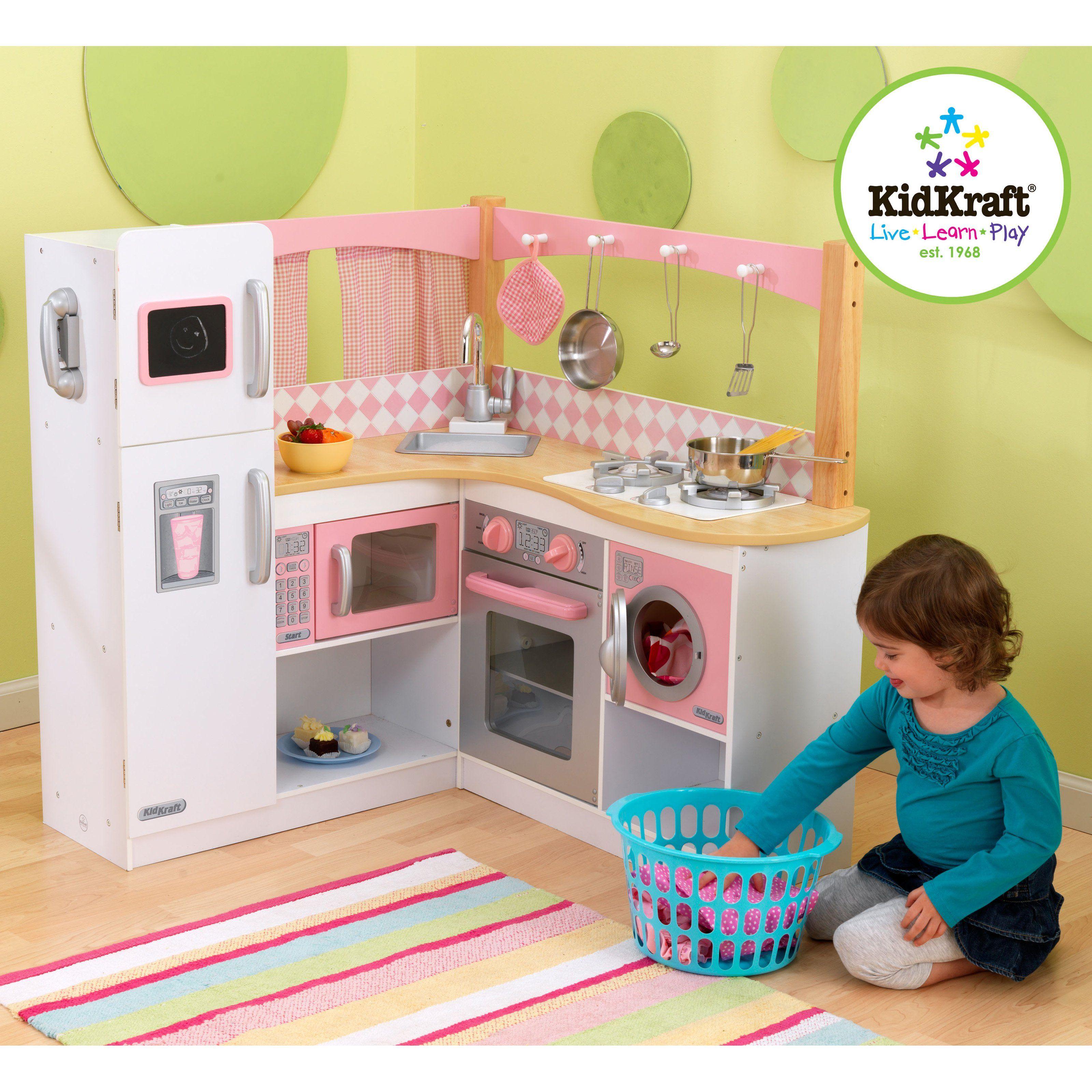 Have To Have It Kidkraft Grand Gourmet Corner Play Kitchen