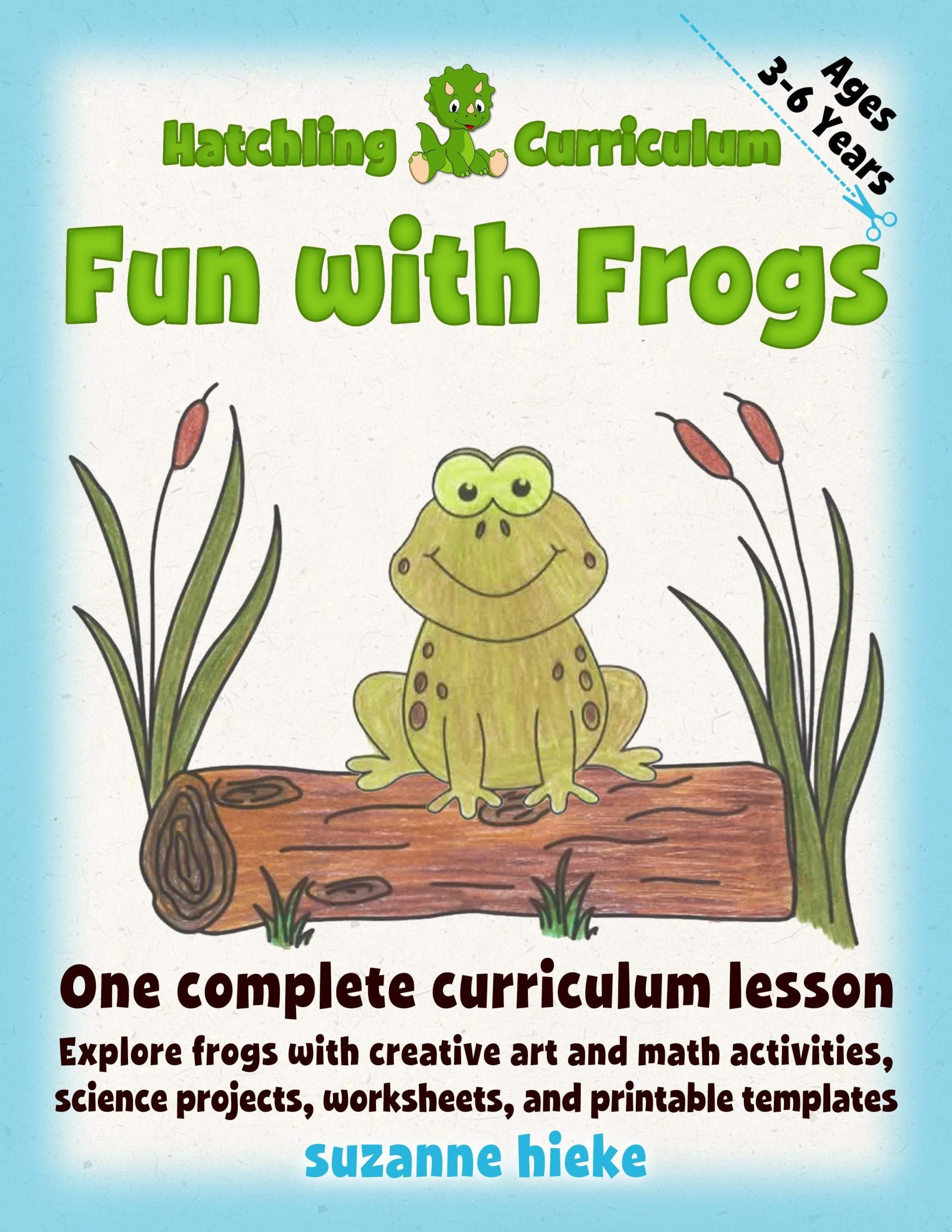 Fun With Frogs Creative Math And Science