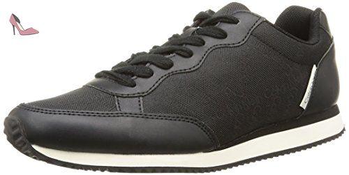 Calvin Klein Jeans Perico, Sneakers Hautes Homme, Noir (Blk), 40 EU
