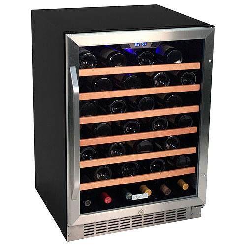 EdgeStar 53 Bottle 24 BuiltIn Single Zone Wine Cooler