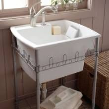 The Latitude Utility Sink By Kohler Has A 12 Deep Basin And