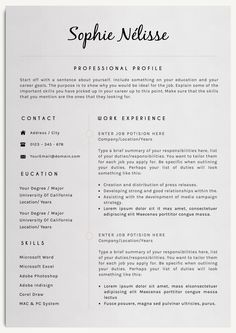 Professional Resume Template By Creativelab On Creativemarket