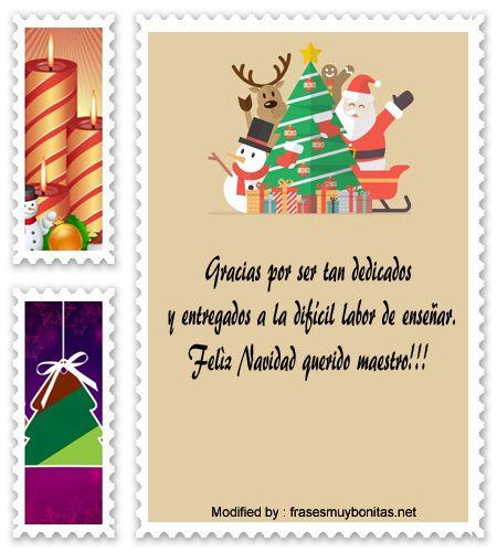 Felicitaciones de navidad para profesores
