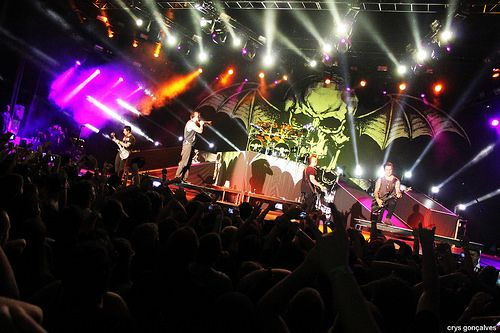 Avenged Sevenfold | A7X Sao Paulo, Brazil on March 20th, 2014  by Crys Gonçalves, via Flickr