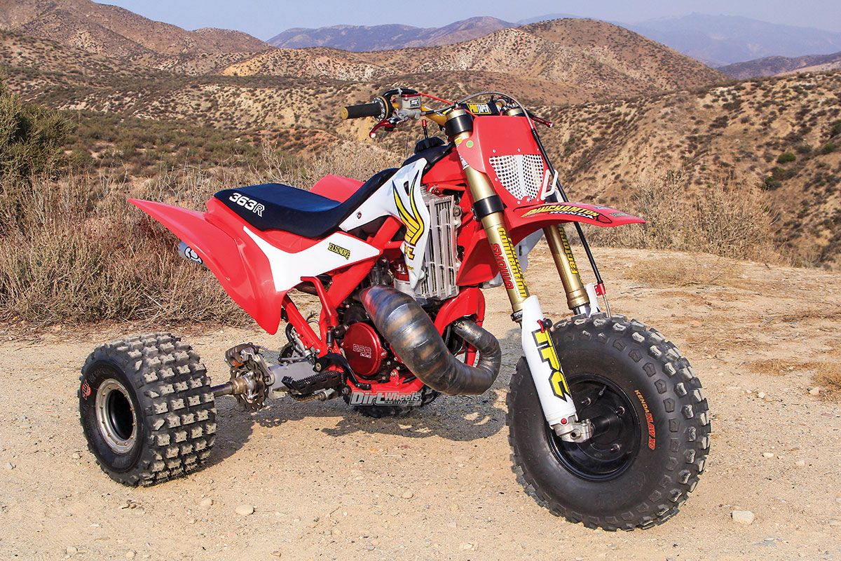 2019 ATC363R TWO-STROKE This thing is a BEAST!! old concept