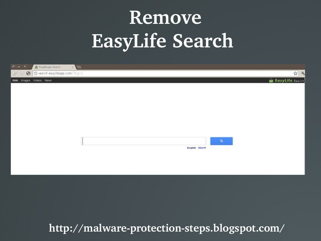Easylife Search Search Easylifeapp Com Is A Browser Hijacker That Redirects Domains And Search Results Automatically To Its Search Engine Browser Search Web