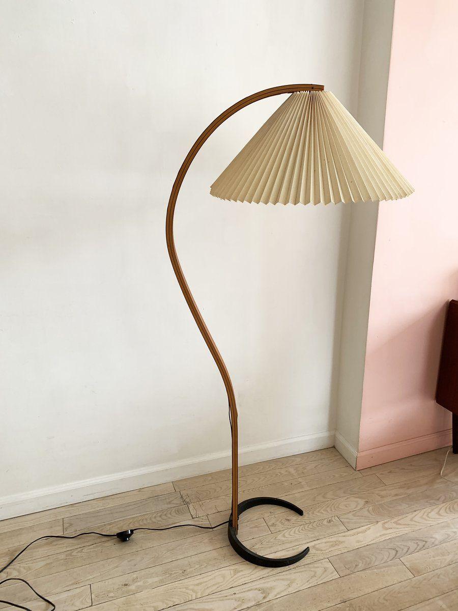 1970s Danish Bent Teak Mads Caprani Pleated Floor Lamp In 2020 Floor Lamp Lamp Lamp Decor