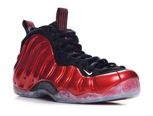 94c4c0b784c Nike Air Foamposite One Varsity Red White Black Mens Basketball Shoes  314996-610 (11 M)