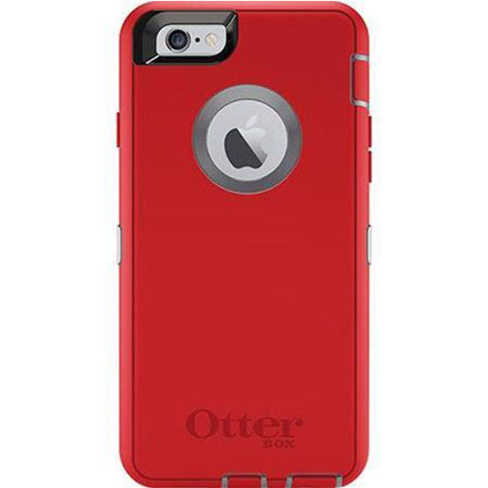 Otterbox Defender Series Iphone 6 6s Protective Case Red Otterbox Red Iphone 6 Iphone 6 Iphone