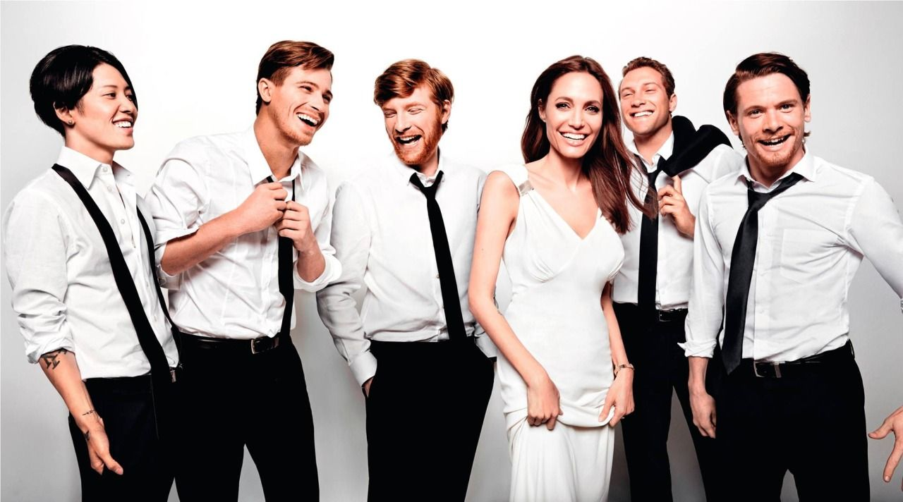 Unbroken Angelina Jolie Cast Jack 3 Angelina Jolie Angelina