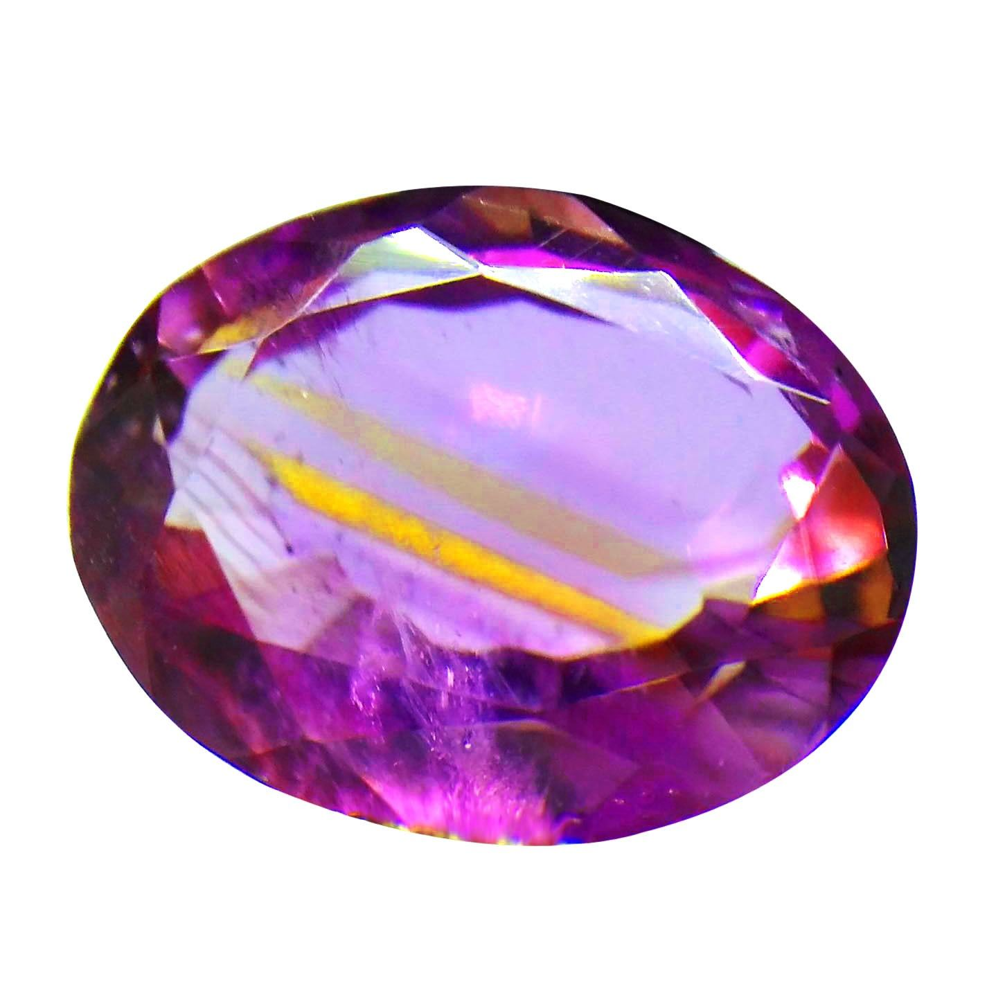 color untreated amethyst natural pin purple deep sparkling gemstone