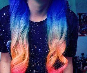 57 Likes Tumblr Dip Dye Hair Red Ombre Hair Hair Chalk