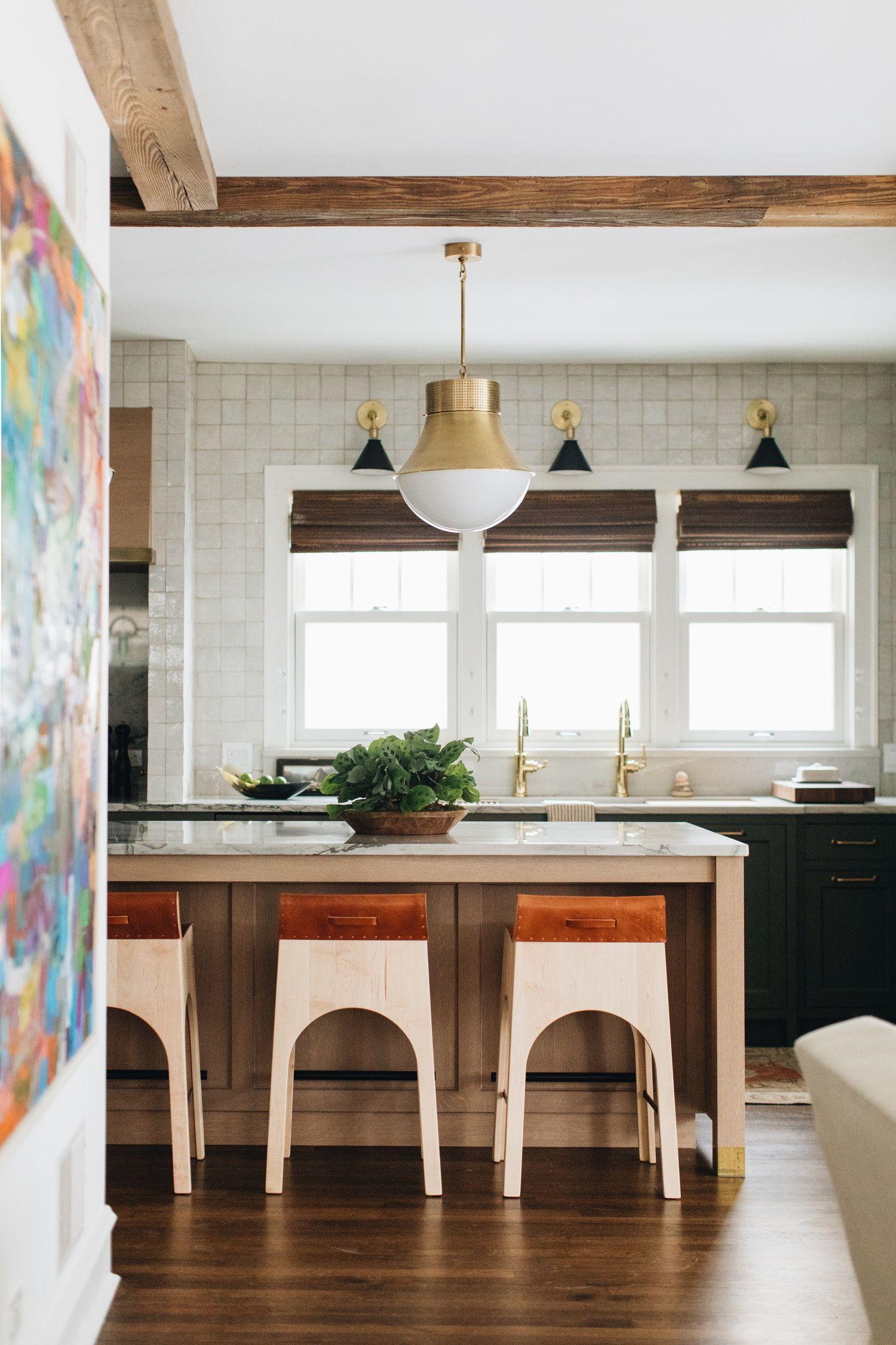 Fair Oaks Jean Stoffer Design Open Concept Kitchen Living Room Layout House Interior Decor Elegant Kitchens