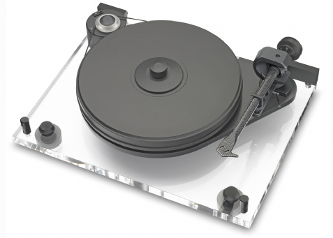 ProJect 6 Perspex Turntable Inc Evolution ToneArm Pro