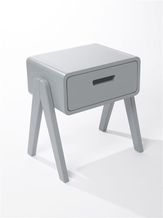 Chevet laurette pour cyrillus gris products for mini for Laurette meubles