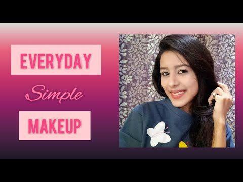 everyday simple makeup tutorial  thatstylebug  youtube