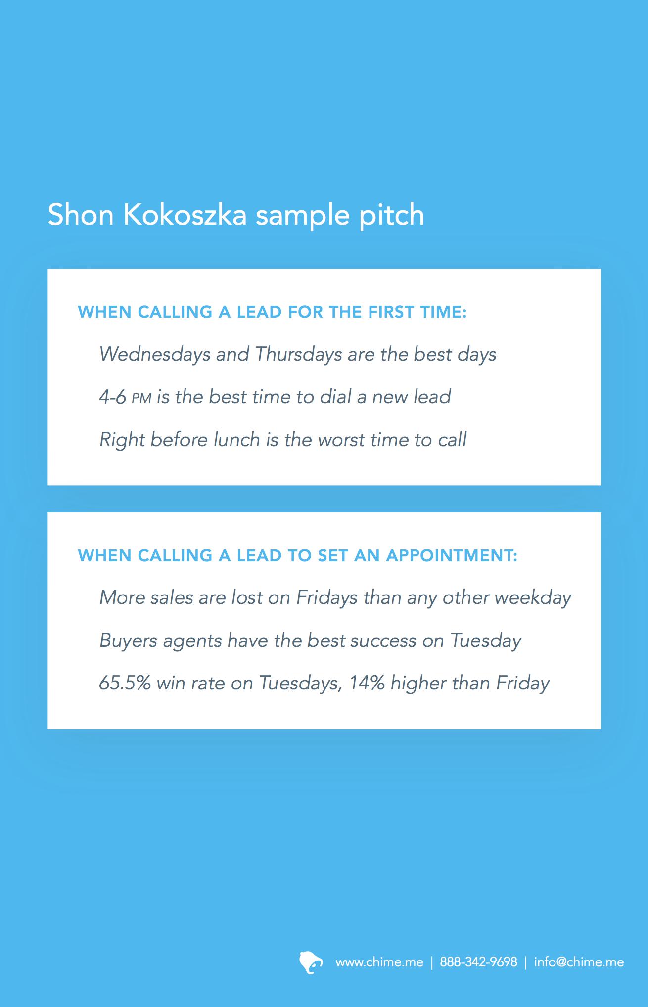 Perfect ebook pitch
