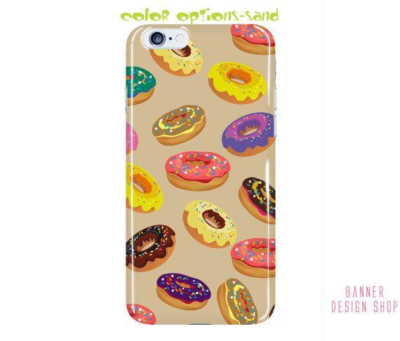 Doughnut Phone Case Color Options iPhone 6 by BannerDesignShop