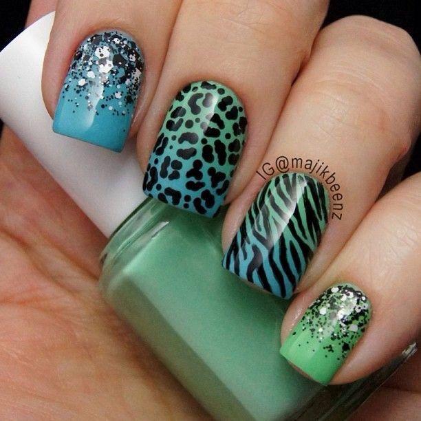 Ongles, nails ❤️