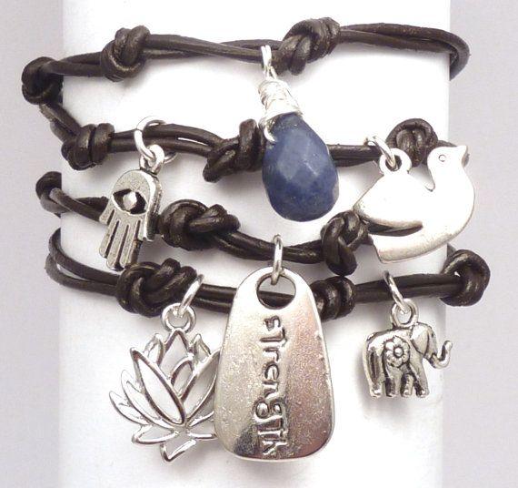 Wrap Bracelet $39.00 #jewelry #handmade #brigteam