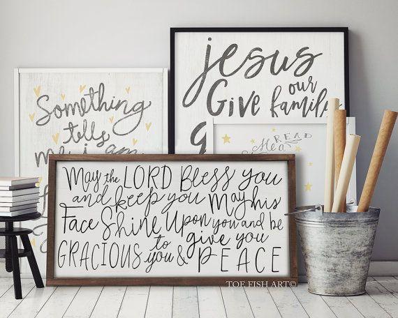 Bible Verse Canvas Painting Signs Print Quotes Poster Kitchen Wall Art Wall Pictures For Living Room Dining Room Decor Dining Room Wall Art Living Room And Dining Room Decor Dining Room
