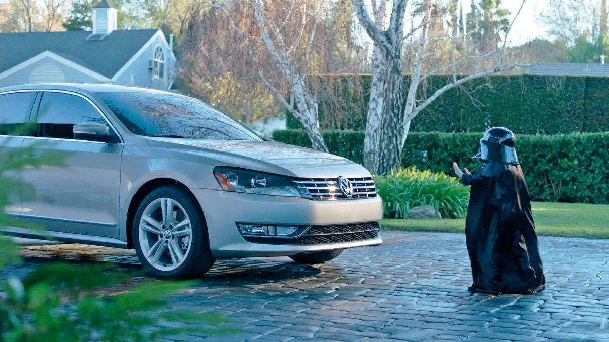 Cuando Tus Poderes Empiezan A Manifestarse Que La Fuerza Te Acompane Super Bowl Best Commercials Car