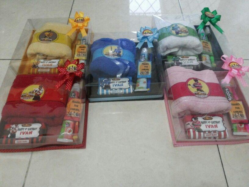 Souvenir Power Ranger Samurai Power Ranger Party Power Rangers