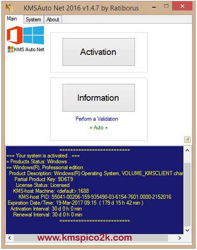 Kmsauto Net 2017 Version 1 4 9 Portable For Windows And