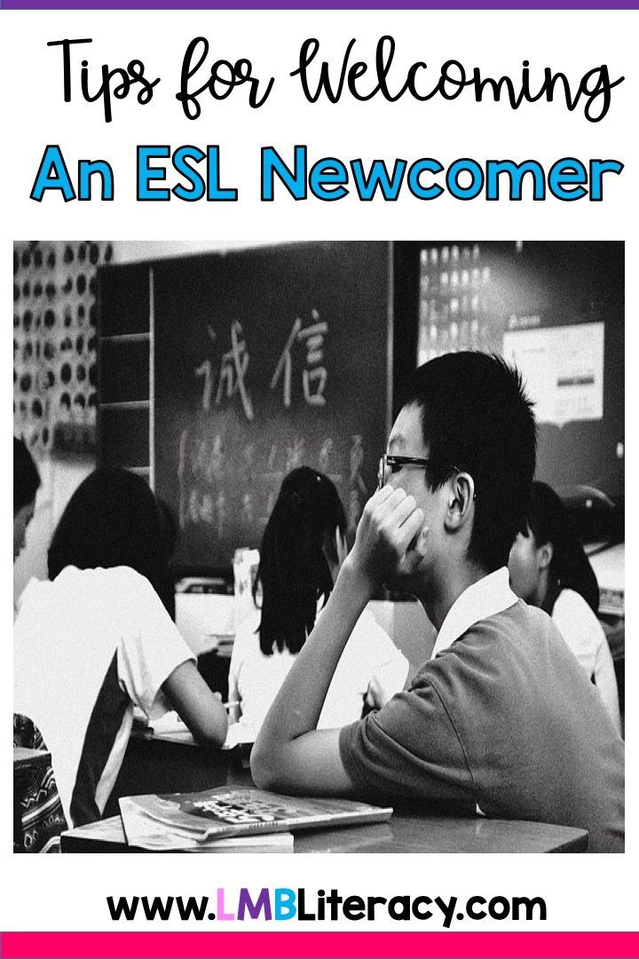 Five Tips for Welcoming an ESL Newcomer Five tips for welcoming an ESL newcomer into your classroom