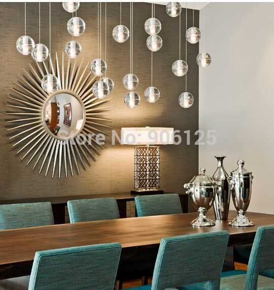 25-Light Modern LED Meteor Shower Crystal Chandelier Light Fixtures Dinning Room Light Guaranteed 100%+Free shipping!