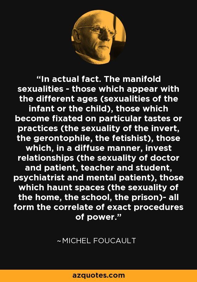 Michel Foucault Quote Philosophy Quotes Philosophical Quotes Quotes
