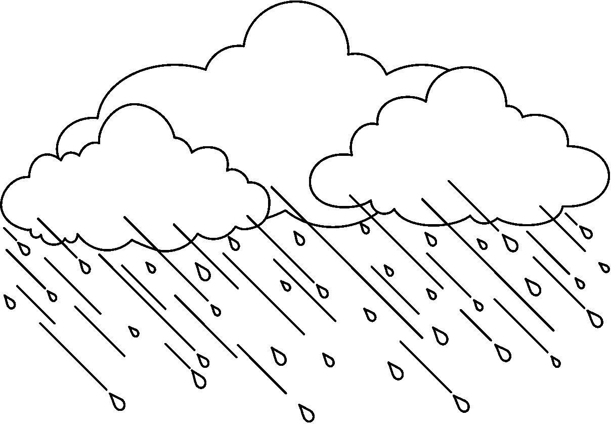 Resultado de imagen para dibujo de lluvias