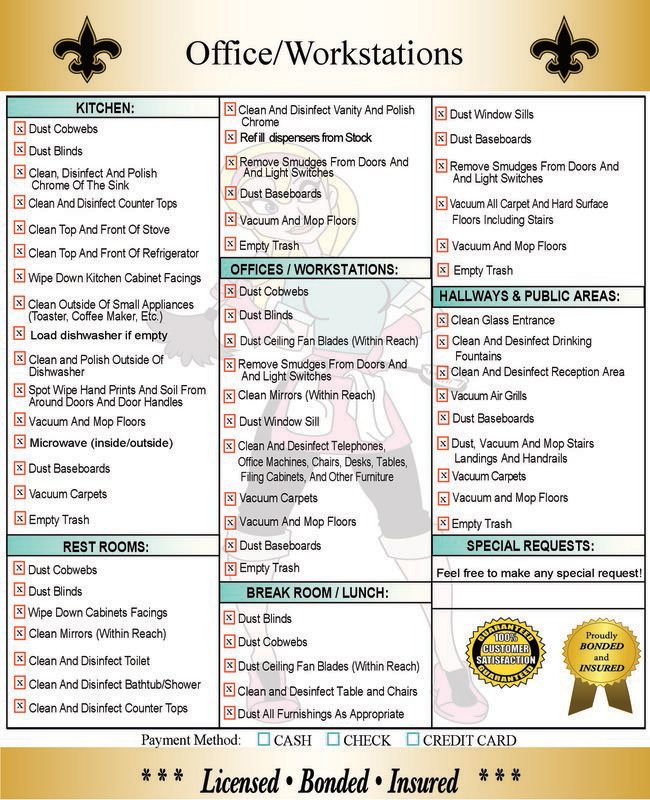 house cleaning checklist daily weekly monthly - Google Search | me ...