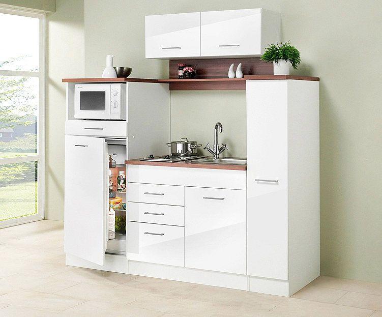 HELD MÖBEL Küchenzeile mit E-Geräten »Virginia, Breite 290 cm - küchen ohne elektrogeräte