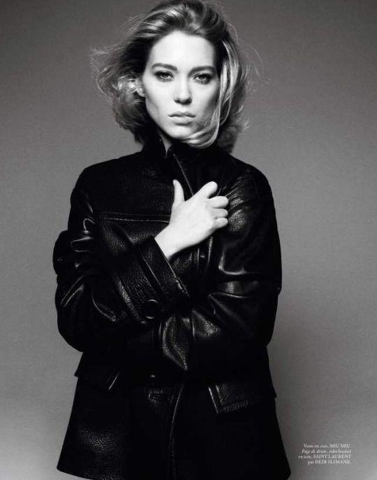 Lea Seydoux for Vogue Paris Magazine April 2015 by David Sims