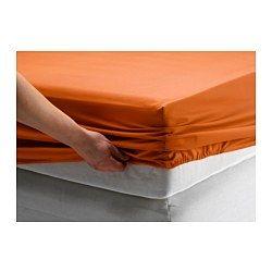 DVALA Fitted Sheet Orange Single